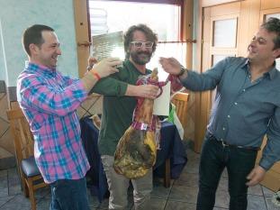 Cobra, campeón del Gasómetro 2014 de A todo gas, recoge sus premios