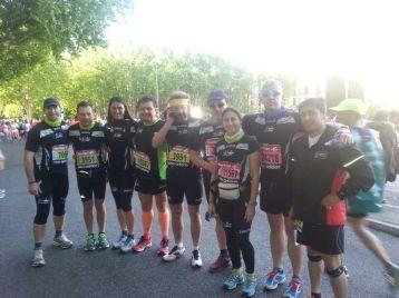 Maratonianos y medios