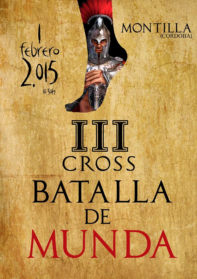 Cartel III Cross Batalla de Munda