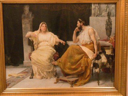 Aspasia y Pericles, nada de pedagogos