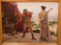 Coriolano llevándose una bronca