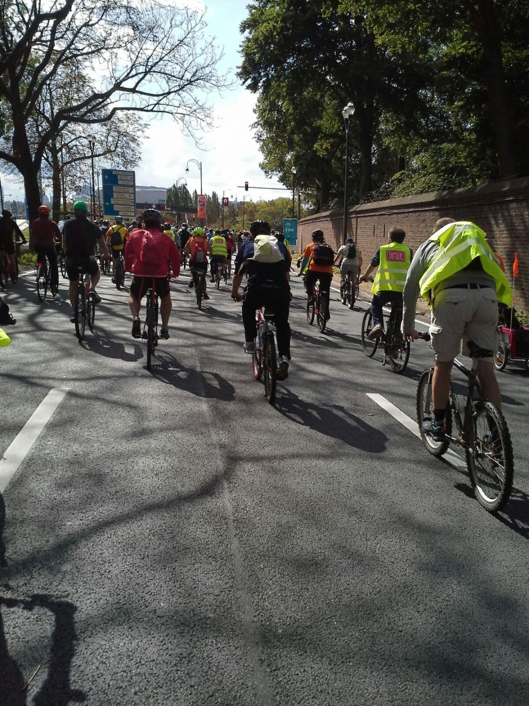 Dia de la Bici en Bruselas